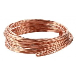 Round stranded copper conductor for equipotential bonding and earthing. Standardized copper sections.