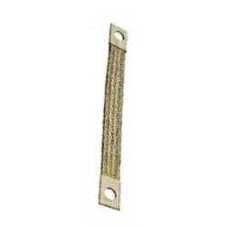 Shunt plat avec œillet, pour liaison équipotentielle et mise à le terre. Sections normalisées en cuivre en cuivre étamé.